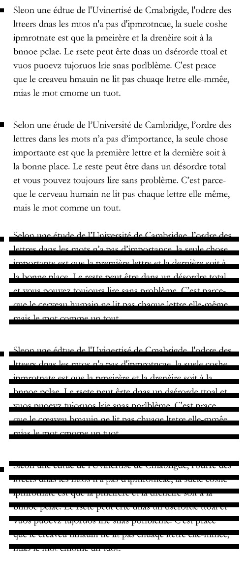 Titres, orthographe et compagnie... Lecture