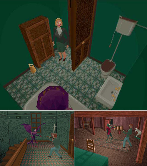 Old, old, really old horror pc games